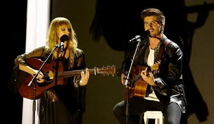 Matt and Jess on X Factor.