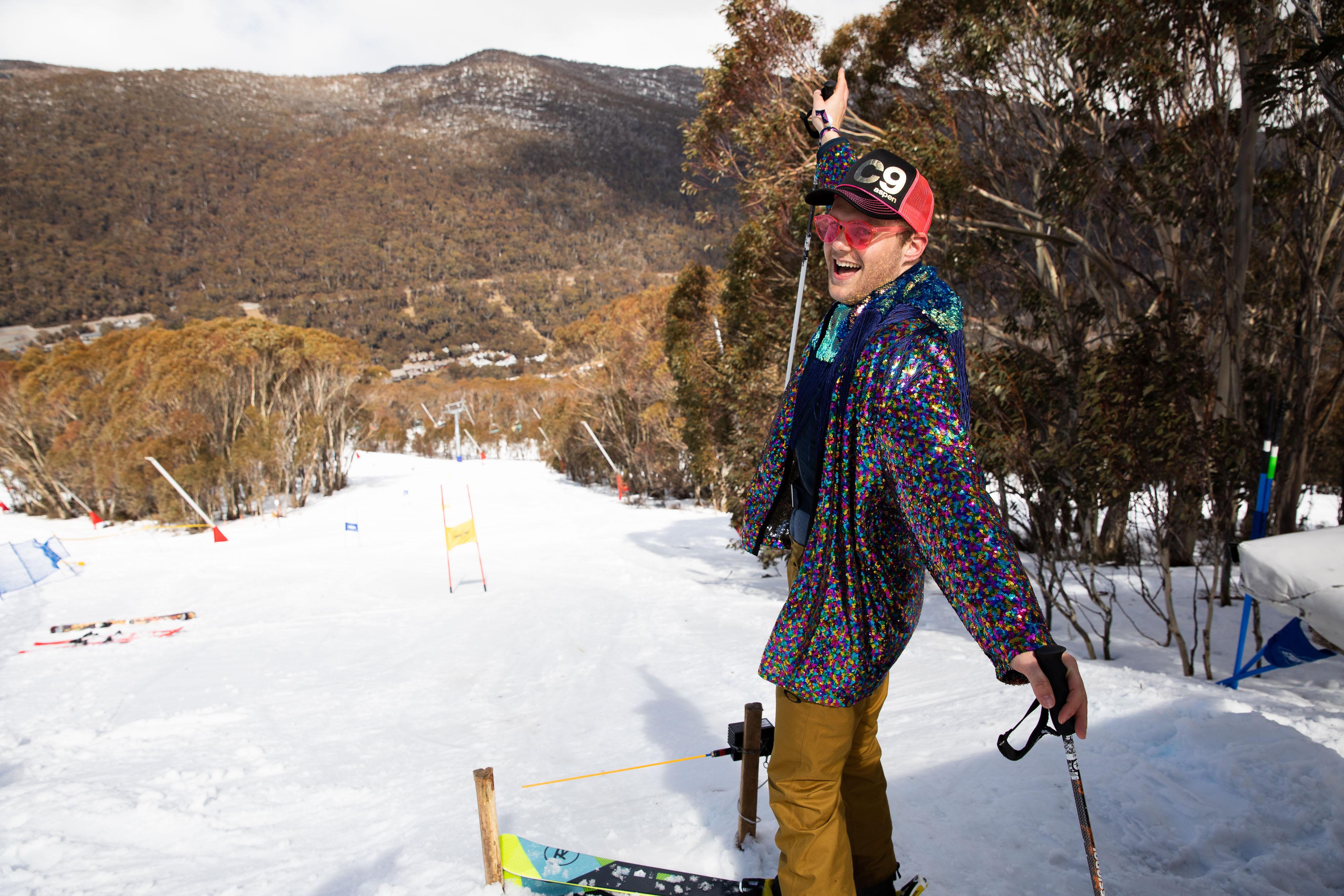 Rainbow Mountain NASTAR