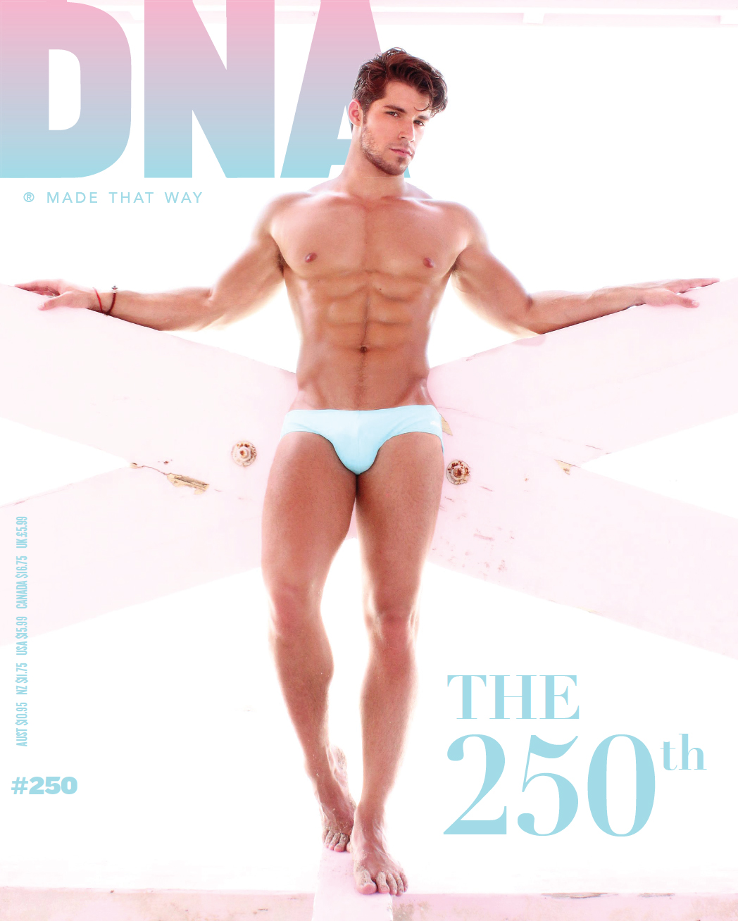 DNA #250 cover with made that way